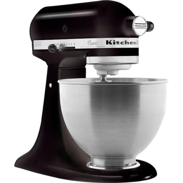 KitchenAid Küchenmaschine Classic 5K45SS EOB, inkl. Sonderzubehör im Wert von ca. 112,-€ UVP, 275 Watt, Schüssel 4,3 Liter