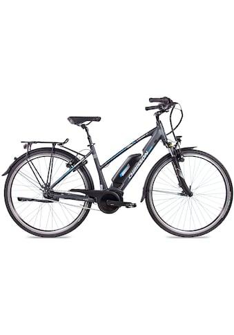 Chrisson E-Bike »E-ROUNDER Damen«, 7 Gang, Shimano, Nexus SG-C3000-7, Mittelmotor 250 W kaufen