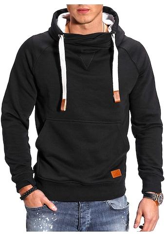 behype Kapuzensweatshirt »JULES«, mit hohem Kragen kaufen