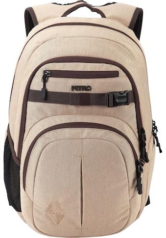 NITRO Schulrucksack »Chase Almond« kaufen