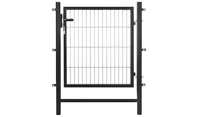 ARVOTEC Set: Zaun - Einzeltür 100x100 cm, anthrazit kaufen