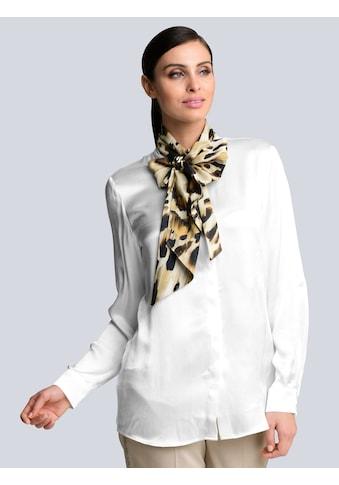 Alba Moda Schluppenbluse, mit bedruckter Schluppe kaufen