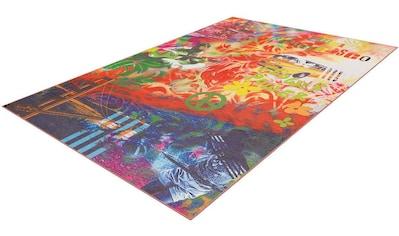 Teppich, »Flash 2702«, Arte Espina, rechteckig, Höhe 9 mm, maschinell gewebt kaufen