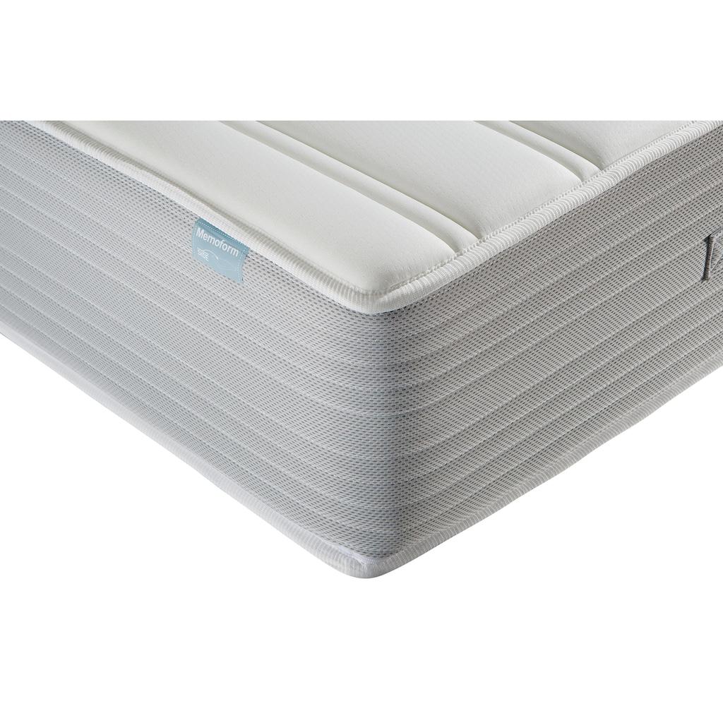 DI QUATTRO Visco-Matratze »Boxspringlook«, (1 St.), Extrahohe Matratze mit sehr atmungsaktiven Seitenbezug - Harte Matratze