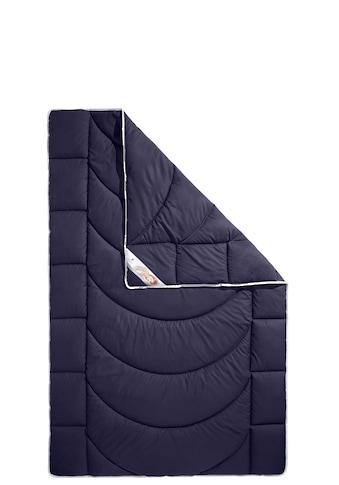 Traumecht Kunstfaserbettdecke »Microlux«, normal, (1 St.), in einem edlen Blauton kaufen