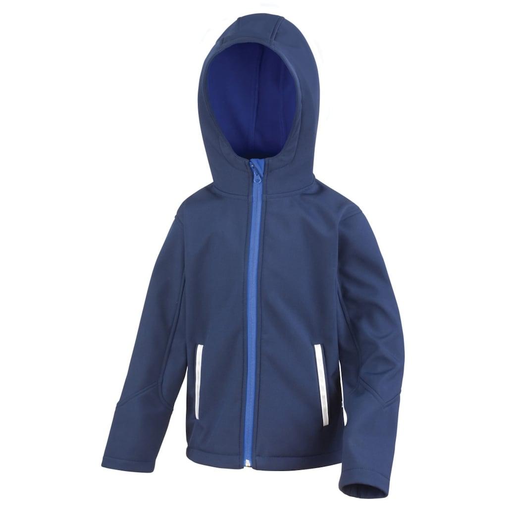 Result Softshelljacke »Core Kinder Unisex Junior Softshell-Jacke mit Kapuze«
