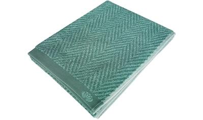 framsohn frottier Duschtuch »Homely«, (1 St.), mit Fischgrätdesign kaufen