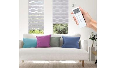 Elektrisches Rollo »Wave  -  SMART HOME«, Good Life, Lichtschutz, ohne Bohren kaufen