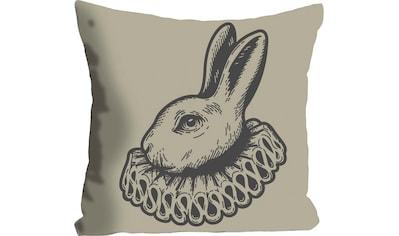 queence Kissenhülle »Olan«, (1 St.), mit einem Hasen mit Rüschen kaufen