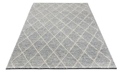 Wollteppich, »Lior«, My HOME, rechteckig, Höhe 10 mm, handgewebt kaufen