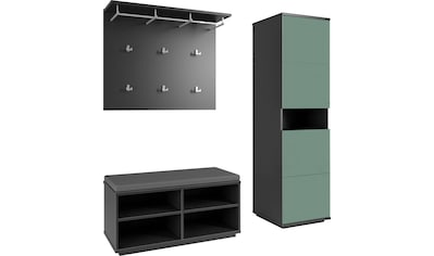 Maja Möbel Garderobenpaneel »ALEA«, 1 Kleiderstange,4 Kleiderhaken, 6 doppel Kleiderhaken kaufen
