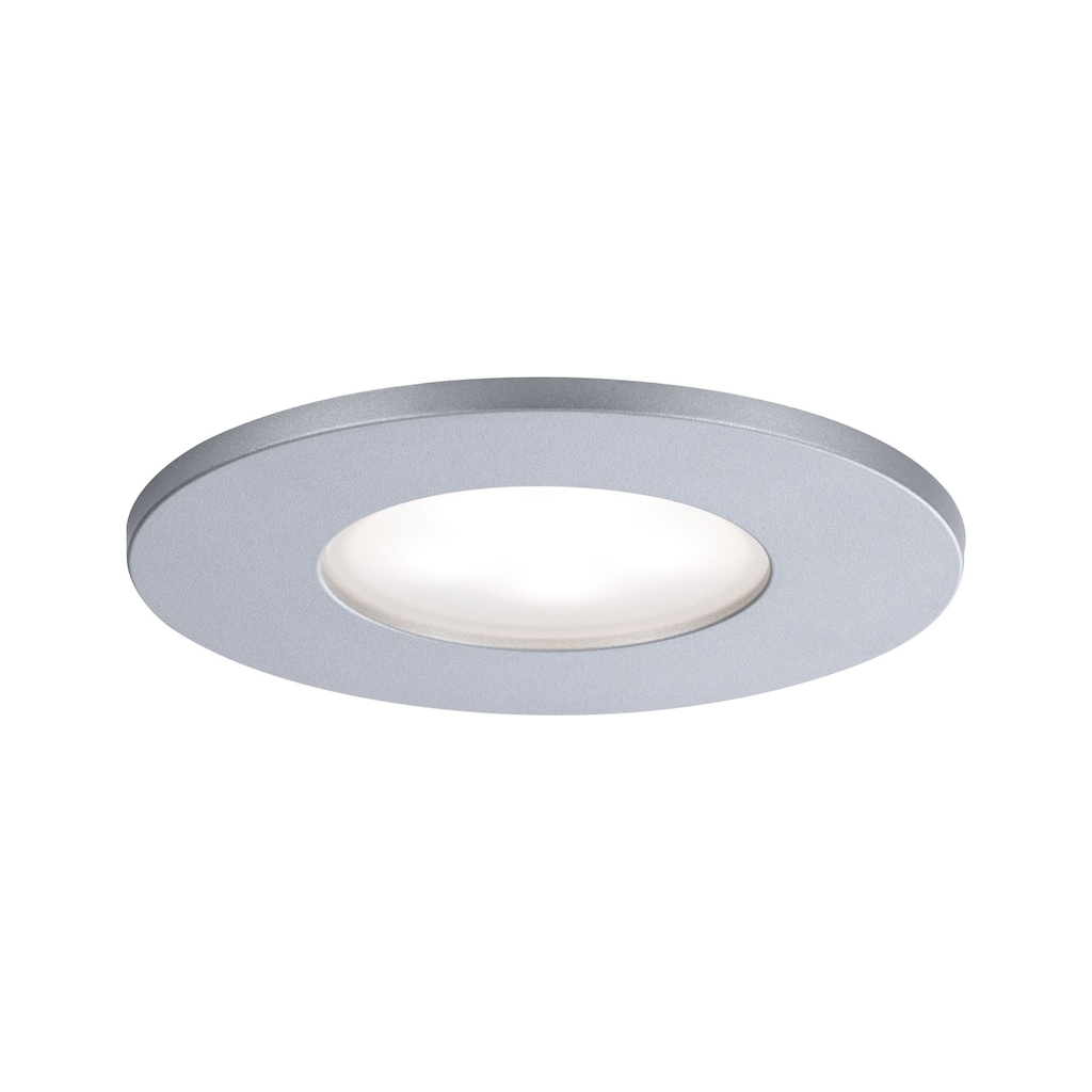 Paulmann LED Einbaustrahler »starr Calla rund Chrom matt 1x5W«, 1 St., Neutralweiß