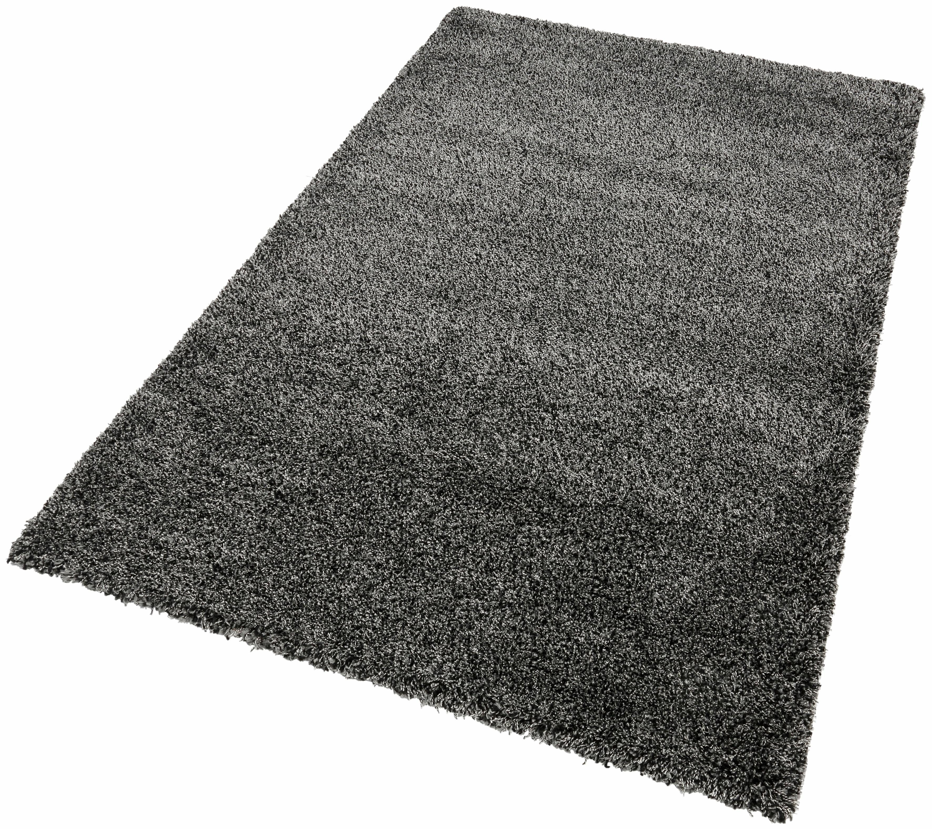 Hochflor-Teppich INDRE merinos rechteckig Höhe 50 mm maschinell gewebt