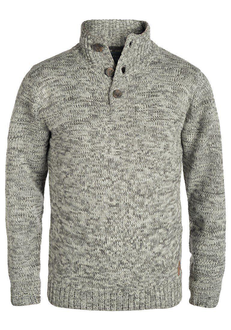 Blend Troyer Teno | Bekleidung > Pullover > Troyer | Grau | Leder | Blend