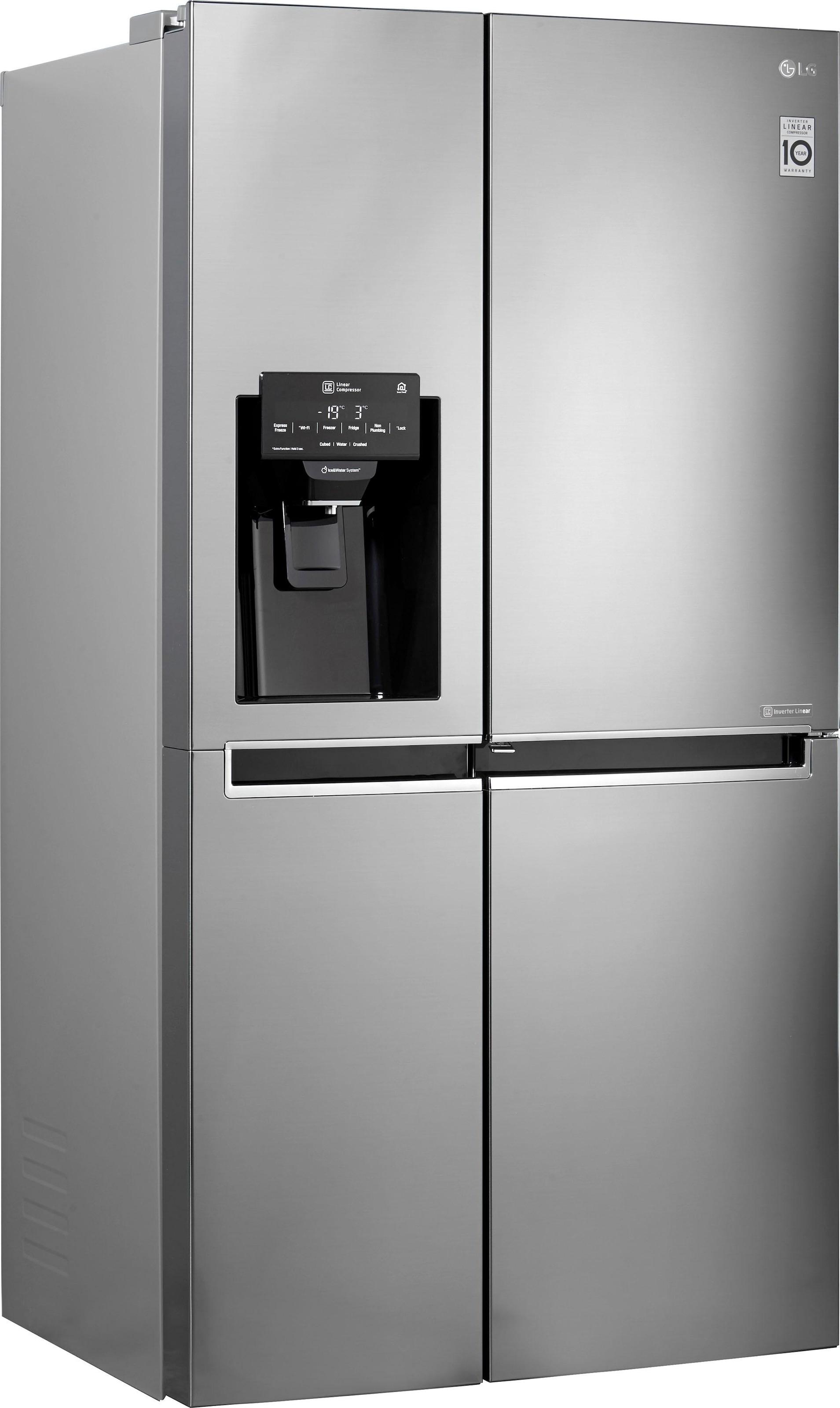 Side By Side Kühlschrank Ratenkauf : Side by side kühlschrank auf rechnung raten kaufen