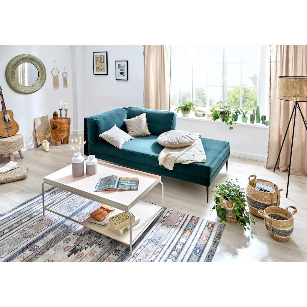 COUCH♥ Couchtisch »Standhaft«, Ablageboden, Gestell und Tischplatte aus Metall