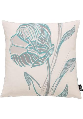 Kissenhülle, »Strichblume«, emotion textiles kaufen