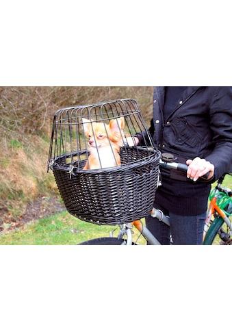 TRIXIE Tierfahrradkorb, mit Gitter, BxTxH: 50x41x35 cm kaufen