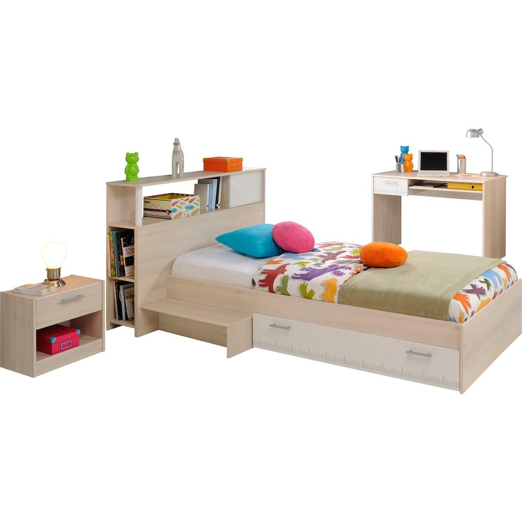 Parisot Jugendzimmer-Set »Charly 11«, (Set, 4 St.), mit einem Schreibtisch