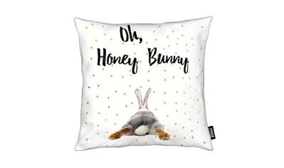 Juniqe Dekokissen »Honey Bunny«, Weiches, allergikerfreundliches Material kaufen
