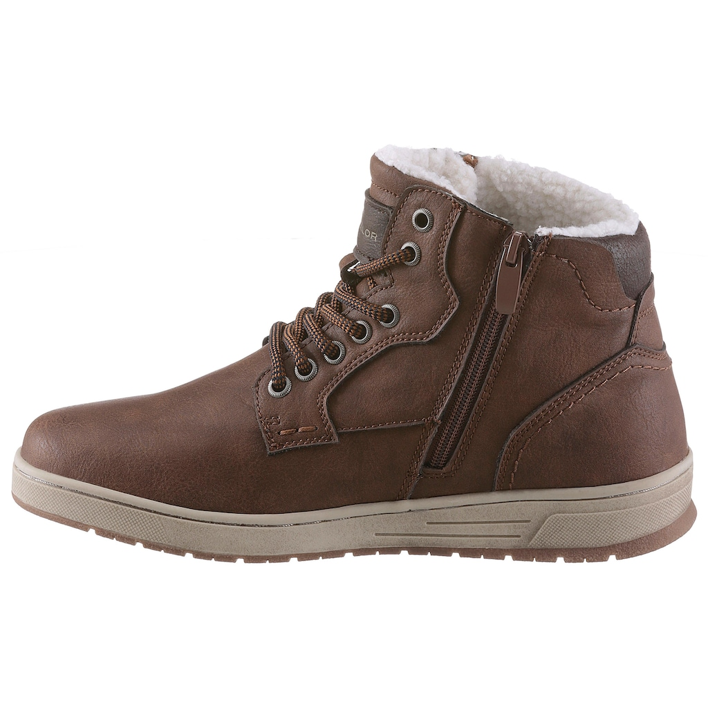 TOM TAILOR Sneaker, mit Warmfutter