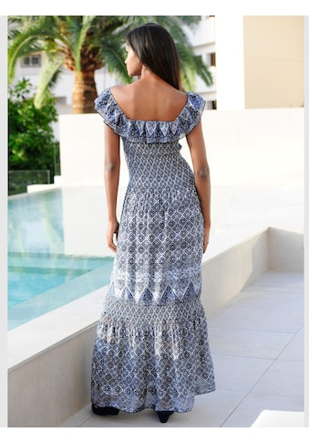 Alba Moda Kleid im Carmen-Stil kaufen