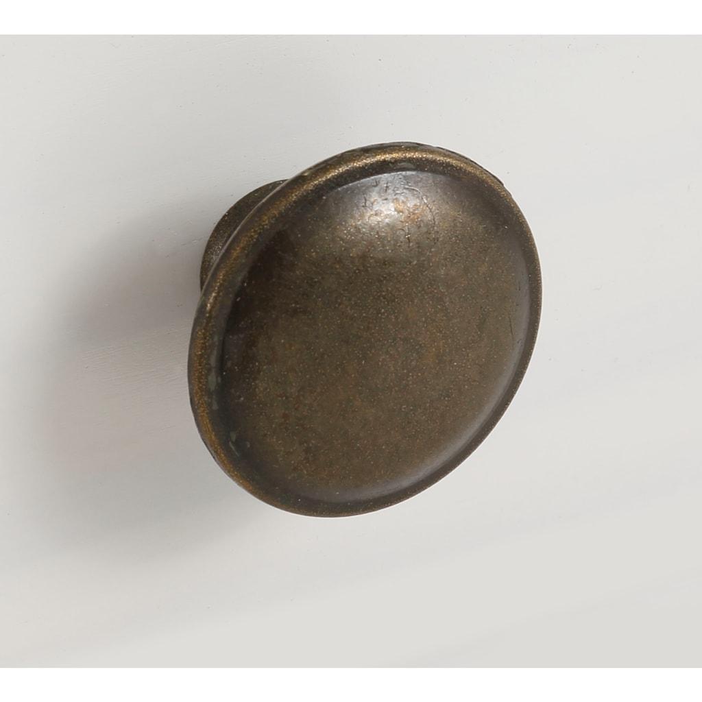 Home affaire Drehtürenschrank »Athen«, aus massivem Kiefernholz, mit schönen Metallgriffen, Breite 140 cm