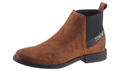 TOMMY JEANS Chelseaboots »ESSENTIAL SUEDE CHELSEA BOOT« kaufen