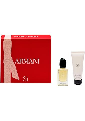 Giorgio Armani Duft-Set »Armani Si«, (2 tlg.) kaufen