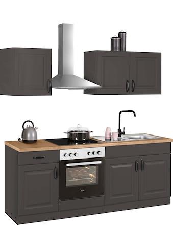 wiho Küchen Küchenzeile »Erla«, mit E-Geräten, Breite 210 cm kaufen