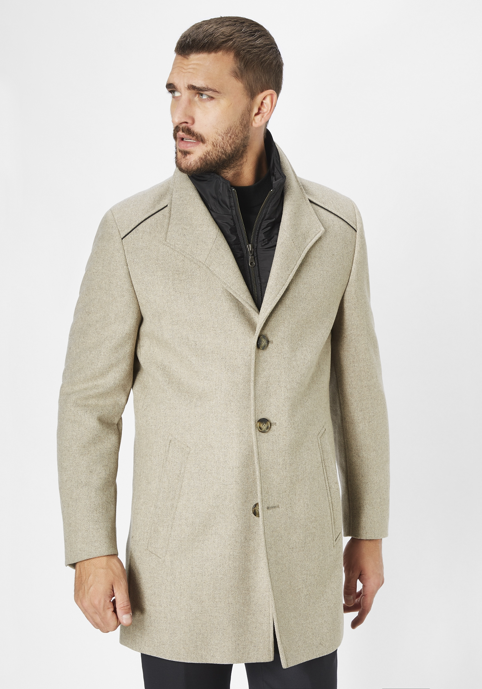 s4 jackets -  Wollmantel Newton L