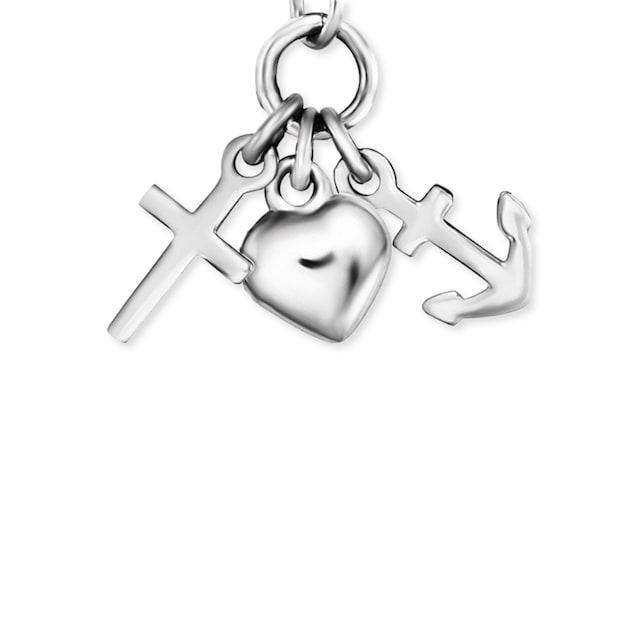 Herzengel Kette mit Anhänger »Glaube, Liebe & Hoffnung, HEN-FLH«