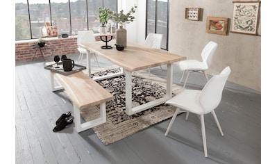Home affaire Esstisch »Tristan«, mit Baumkante kaufen