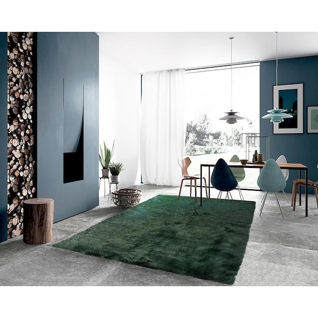 Fellteppich, »Lenja«, LeGer Home by Lena Gercke, rechteckig, Höhe 60 mm, maschinell getuftet