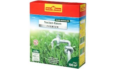 WOLF GARTEN Rasensamen »L - TP 100«, 3 kg Trocken - Rasen, für ca. 100 m² kaufen