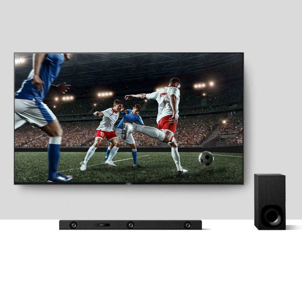 Sony Soundbar »HT-ZF9«, 3.1-Kanal Dolby Atmos/DTS:X, mit Vertical Surround Engine, WiFi, High-Resolution Audio und Subwoofer
