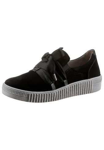 Gabor Slip-On Sneaker, mit Gummizügen kaufen