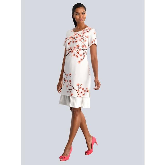 Alba Moda Kleid mit wunderschönem Blumendruck