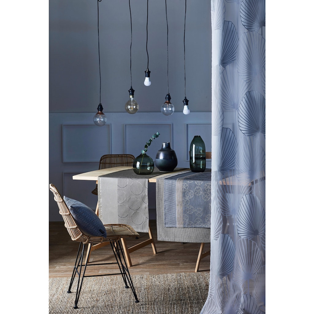 APELT Tischläufer »1304 Loft Style, Jacquard«, (1 St.)
