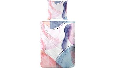Primera Bettwäsche »Bubble Gum«, mit kunstvollen Aquarelleffekten kaufen