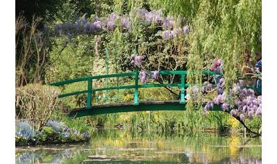 Papermoon Fototapete »Giverney - Monets Garten.«, Vliestapete, hochwertiger Digitaldruck kaufen