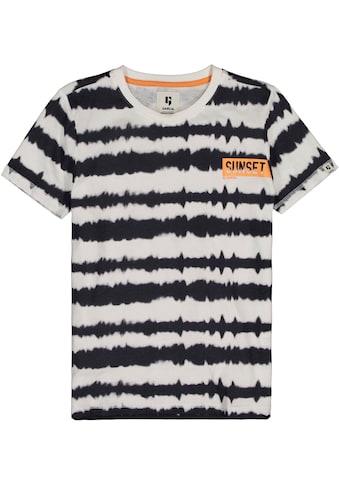 Garcia T-Shirt »in Batikoptik« kaufen
