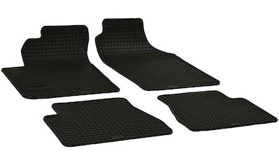 Walser Passform-Fußmatten, Kia, Picanto, Schrägheck, (4 St., 2 Vordermatten, 2 Rückmatten), für Kia Picanto BJ 04/2004 - heute kaufen
