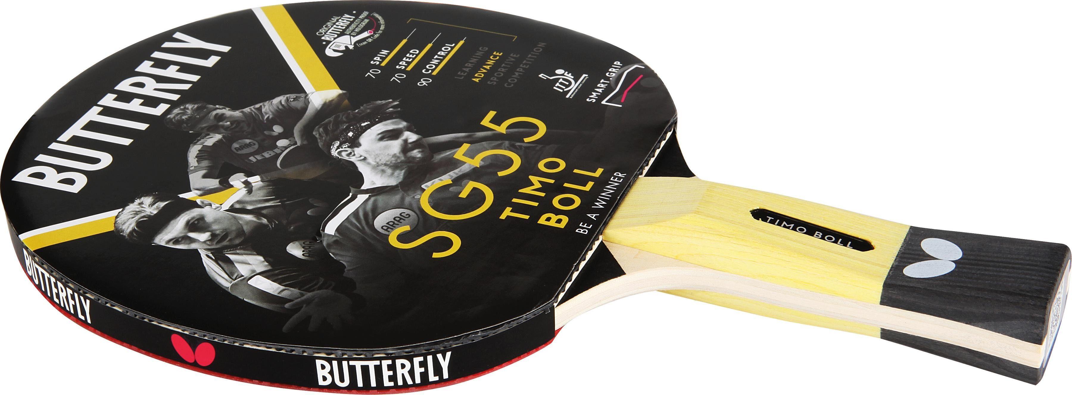 Butterfly Tischtennisschläger Timo Boll SG55 Technik & Freizeit/Sport & Freizeit/Sportarten/Tischtennis/Tischtennis-Ausrüstung