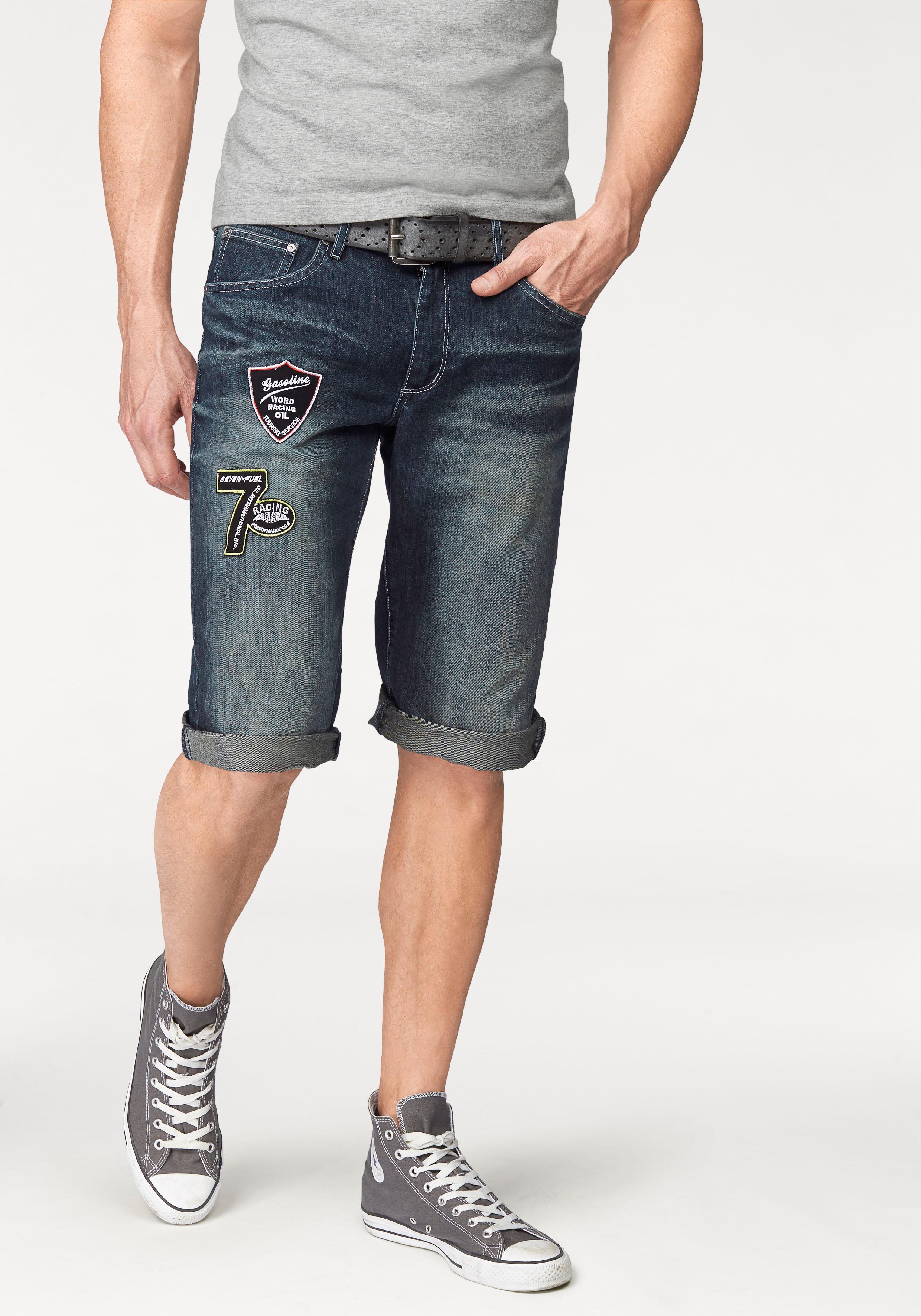 Bruno Banani Jeansbermudas | Bekleidung > Shorts & Bermudas > Jeans Bermudas | Blau | Denim | BRUNO BANANI