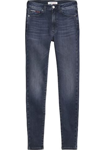 Tommy Jeans Skinny-fit-Jeans »SYLVIA HR SPR SKNY ANKLE«, mit Faded-out Effekten &... kaufen