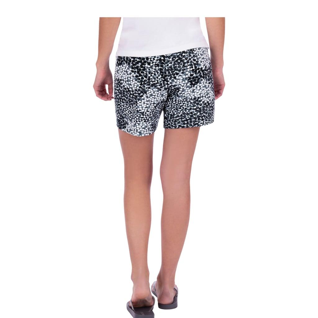 Trigema Hüft-Shorts mit Elastikbund und Kordelzug