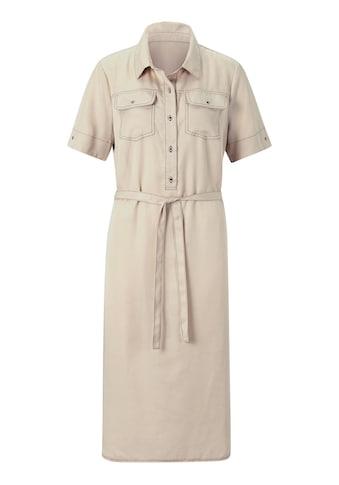 Casual Looks Kleid in Lyocell - Qualität kaufen