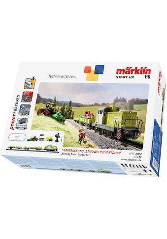 "Märklin Spielzeugeisenbahn - Set ""Märklin Start up  -  Startpackung Landwirtschaftszug  -  29652"", Spur H0, (Set) kaufen"