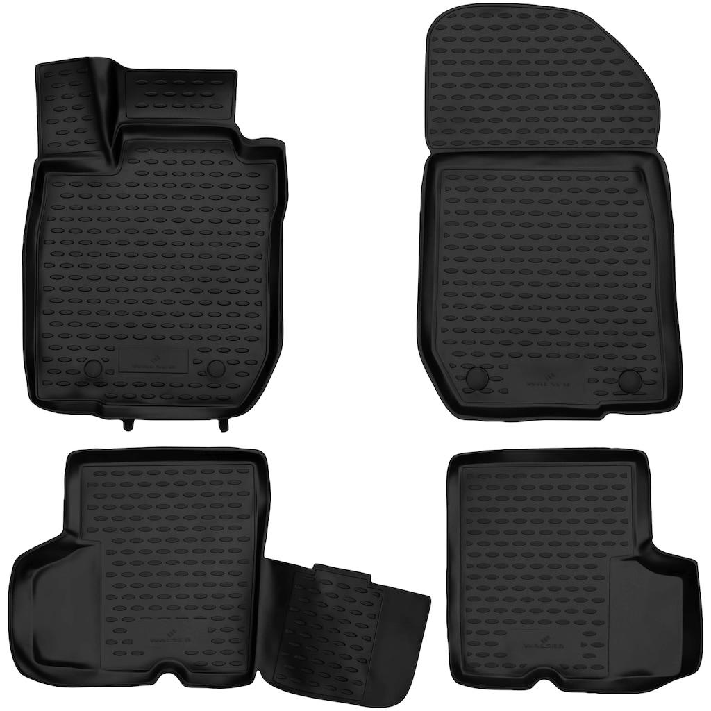 WALSER Passform-Fußmatten »XTR«, (5 St.), für Ford Grand C-Max, 7-Sitzer Bj 12/2010 - Heute